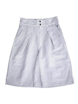 <img class='new_mark_img1' src='//img.shop-pro.jp/img/new/icons16.gif' style='border:none;display:inline;margin:0px;padding:0px;width:auto;' />[50%OFF] JieDa STRIPE OVER SKATE SHORTS (WHT)
