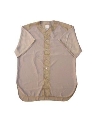 <img class='new_mark_img1' src='//img.shop-pro.jp/img/new/icons14.gif' style='border:none;display:inline;margin:0px;padding:0px;width:auto;' />YSTRDY'S TMRRW SATIN PLAYBALL SHIRT (BEI)