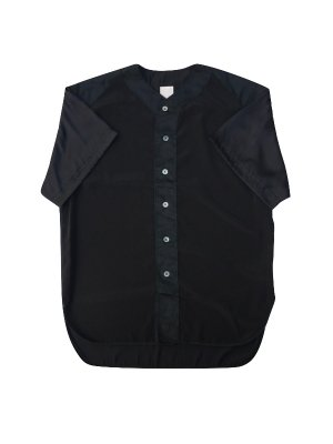 <img class='new_mark_img1' src='//img.shop-pro.jp/img/new/icons14.gif' style='border:none;display:inline;margin:0px;padding:0px;width:auto;' />YSTRDY'S TMRRW SATIN PLAYBALL SHIRT (BLK)