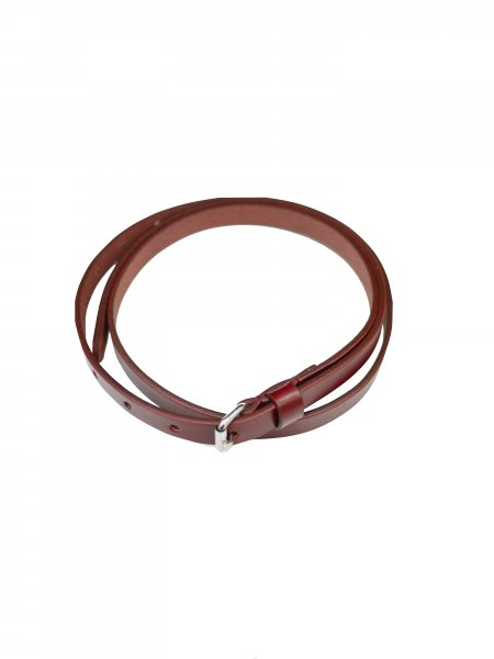 JieDa LEATHER BELT (RED)