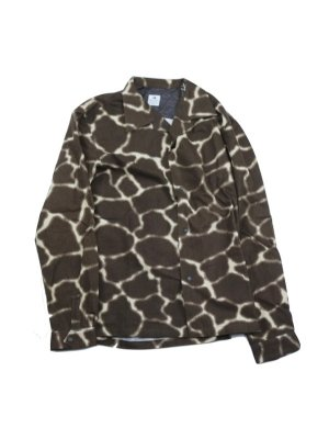 <img class='new_mark_img1' src='//img.shop-pro.jp/img/new/icons14.gif' style='border:none;display:inline;margin:0px;padding:0px;width:auto;' />Sasquatchfabrix.  ANIMAL PRINT FLANNEL SHIRT (GIR)