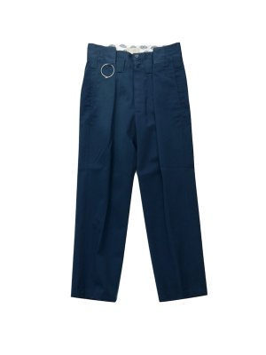 <img class='new_mark_img1' src='//img.shop-pro.jp/img/new/icons14.gif' style='border:none;display:inline;margin:0px;padding:0px;width:auto;' />JieDa × Dickies REMAKE TUCK SLACKS (NAV)