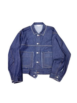 <img class='new_mark_img1' src='//img.shop-pro.jp/img/new/icons14.gif' style='border:none;display:inline;margin:0px;padding:0px;width:auto;' />JieDa DENIM SHORT JACKET O/W (IND)