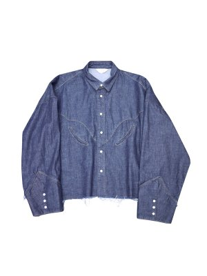 <img class='new_mark_img1' src='//img.shop-pro.jp/img/new/icons14.gif' style='border:none;display:inline;margin:0px;padding:0px;width:auto;' />JieDa DENIM WESTERN SHIRT (IND)