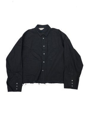 <img class='new_mark_img1' src='//img.shop-pro.jp/img/new/icons14.gif' style='border:none;display:inline;margin:0px;padding:0px;width:auto;' />JieDa DENIM WESTERN SHIRT (BLK)