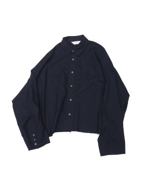 <img class='new_mark_img1' src='//img.shop-pro.jp/img/new/icons14.gif' style='border:none;display:inline;margin:0px;padding:0px;width:auto;' />JieDa C/W WESTERN SHIRT (BLK)