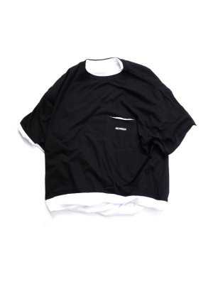 <img class='new_mark_img1' src='//img.shop-pro.jp/img/new/icons47.gif' style='border:none;display:inline;margin:0px;padding:0px;width:auto;' />NEON SIGN SAND WICH T-SHIRT (BLK)