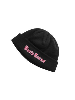 <img class='new_mark_img1' src='//img.shop-pro.jp/img/new/icons14.gif' style='border:none;display:inline;margin:0px;padding:0px;width:auto;' />JieDa EMBROIDERY KNIT CAP (BLK)
