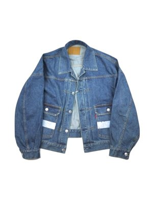 <img class='new_mark_img1' src='//img.shop-pro.jp/img/new/icons14.gif' style='border:none;display:inline;margin:0px;padding:0px;width:auto;' />NEON SIGN DENIM JACKET