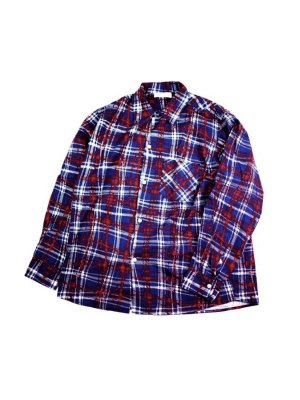 "<img class='new_mark_img1' src='//img.shop-pro.jp/img/new/icons14.gif' style='border:none;display:inline;margin:0px;padding:0px;width:auto;' />NEON SIGN FLANNEL SHIRT ""UNIVERSAL CHECK"" (NAV)"