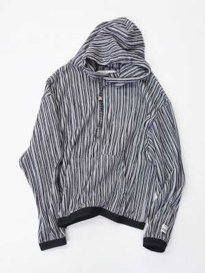<img class='new_mark_img1' src='//img.shop-pro.jp/img/new/icons14.gif' style='border:none;display:inline;margin:0px;padding:0px;width:auto;' />R.M GANG RIPPLE STRIPE PARKA (BLK)