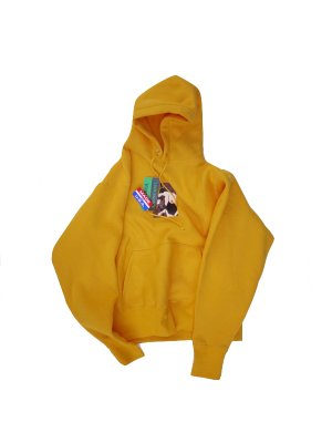 <img class='new_mark_img1' src='//img.shop-pro.jp/img/new/icons14.gif' style='border:none;display:inline;margin:0px;padding:0px;width:auto;' />AiE PULLOVER HOODY - EP (GOL)