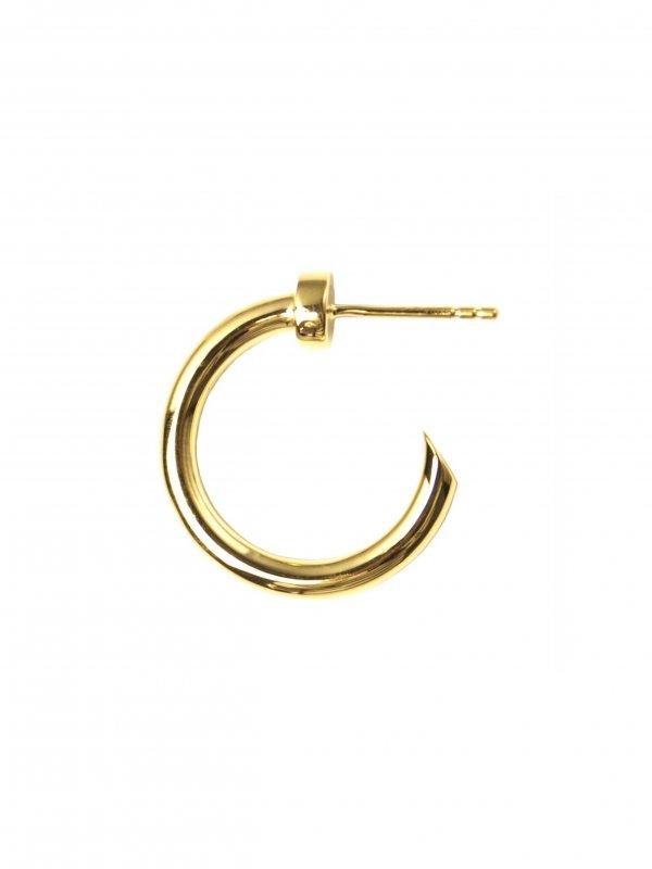 EPHEMERAL stud hoop pierce (18k coating)