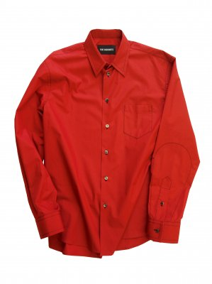 <img class='new_mark_img1' src='//img.shop-pro.jp/img/new/icons14.gif' style='border:none;display:inline;margin:0px;padding:0px;width:auto;' />YUKI HASHIMOTO CONTRAST STITCH SHIRT (RED)