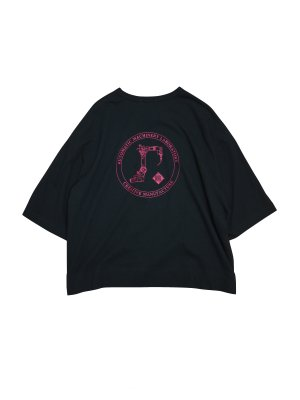 <img class='new_mark_img1' src='//img.shop-pro.jp/img/new/icons14.gif' style='border:none;display:inline;margin:0px;padding:0px;width:auto;' />JieDa CIRCLE GRAPHIC T-SHIRT (BLK)