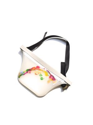 <img class='new_mark_img1' src='//img.shop-pro.jp/img/new/icons14.gif' style='border:none;display:inline;margin:0px;padding:0px;width:auto;' />macromauro PAINT PLANE BAG SMALL (WHT) #B