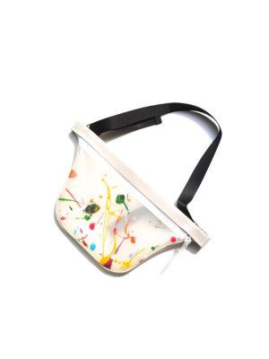 <img class='new_mark_img1' src='//img.shop-pro.jp/img/new/icons14.gif' style='border:none;display:inline;margin:0px;padding:0px;width:auto;' />macromauro PAINT PLANE BAG SMALL (WHT) #C