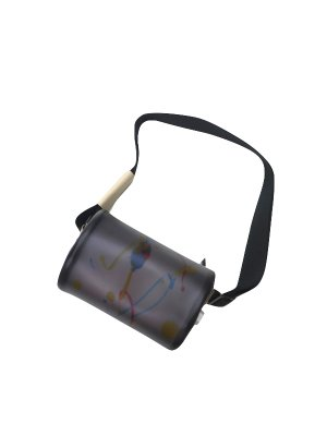 [50%OFF] macromauro PAINT CYLINDER BAG SMALL (BLK) #C