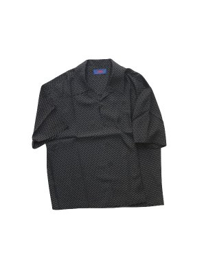 <img class='new_mark_img1' src='//img.shop-pro.jp/img/new/icons14.gif' style='border:none;display:inline;margin:0px;padding:0px;width:auto;' />ADANS LOGO PATTERN SHIRT