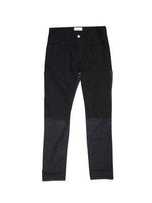 <img class='new_mark_img1' src='https://img.shop-pro.jp/img/new/icons55.gif' style='border:none;display:inline;margin:0px;padding:0px;width:auto;' />JieDa 2WAY SLIM DENIM PANTS OW (BLK × IND OW)