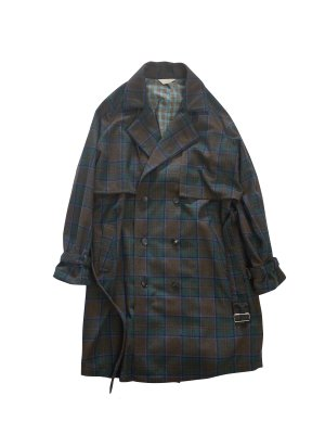 <img class='new_mark_img1' src='//img.shop-pro.jp/img/new/icons14.gif' style='border:none;display:inline;margin:0px;padding:0px;width:auto;' />JieDa PLAID TRENCH COAT