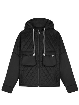 <img class='new_mark_img1' src='//img.shop-pro.jp/img/new/icons16.gif' style='border:none;display:inline;margin:0px;padding:0px;width:auto;' />[50%OFF] DROLE DE MONSIEUR  Quilted Patch Pocket Coat