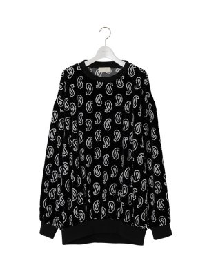 <img class='new_mark_img1' src='//img.shop-pro.jp/img/new/icons14.gif' style='border:none;display:inline;margin:0px;padding:0px;width:auto;' />NEON SIGN Paisley Sweat (BLK)