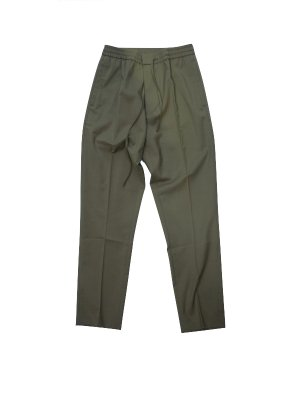 <img class='new_mark_img1' src='//img.shop-pro.jp/img/new/icons14.gif' style='border:none;display:inline;margin:0px;padding:0px;width:auto;' />CMMN SWDN STAN -TAPERED DRAWSTRING TROUSERS CRAFTE