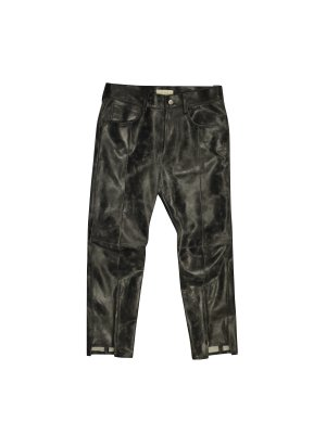 <img class='new_mark_img1' src='//img.shop-pro.jp/img/new/icons16.gif' style='border:none;display:inline;margin:0px;padding:0px;width:auto;' />[50%OFF] JieDa LEATHER PANTS