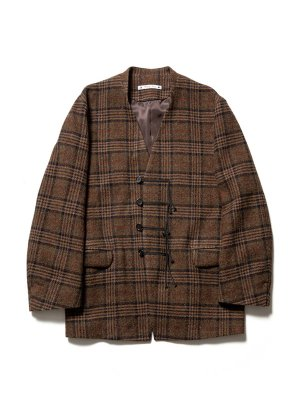 <img class='new_mark_img1' src='//img.shop-pro.jp/img/new/icons14.gif' style='border:none;display:inline;margin:0px;padding:0px;width:auto;' />Sasquatchfabrix.  TWEED ORIENTAL JACKET (G/N)