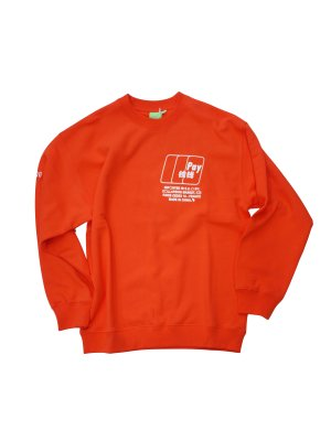 [40%OFF] Collapsing Market CHINA CREW SWEAT