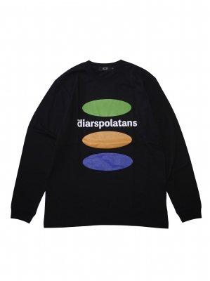 Diaspora skateboards the diarspolatans L/S Tee (BLK)