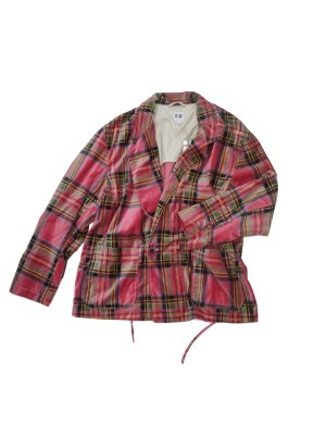 <img class='new_mark_img1' src='//img.shop-pro.jp/img/new/icons14.gif' style='border:none;display:inline;margin:0px;padding:0px;width:auto;' />AiE EZ JACKET - PLAID VELVETEEN (PIN)