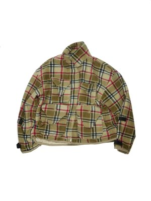 <img class='new_mark_img1' src='//img.shop-pro.jp/img/new/icons14.gif' style='border:none;display:inline;margin:0px;padding:0px;width:auto;' />AiE DOC JACKET - PLAID FLEECE