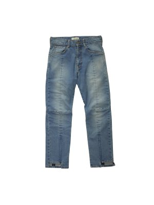 <img class='new_mark_img1' src='https://img.shop-pro.jp/img/new/icons16.gif' style='border:none;display:inline;margin:0px;padding:0px;width:auto;' />[20%OFF] JieDa PANEL DENIM PANTS (IND)