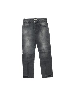 <img class='new_mark_img1' src='https://img.shop-pro.jp/img/new/icons16.gif' style='border:none;display:inline;margin:0px;padding:0px;width:auto;' />[20%OFF] JieDa PANEL DENIM PANTS (BLK)