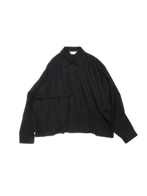 <img class='new_mark_img1' src='//img.shop-pro.jp/img/new/icons14.gif' style='border:none;display:inline;margin:0px;padding:0px;width:auto;' />JieDa TRENCH SHIRT (BLK)