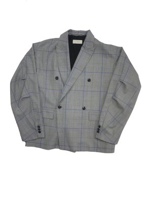 <img class='new_mark_img1' src='https://img.shop-pro.jp/img/new/icons16.gif' style='border:none;display:inline;margin:0px;padding:0px;width:auto;' />[40%OFF] JieDa DOUBLE TAILORED JACKET (GLN)
