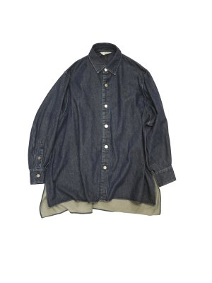 <img class='new_mark_img1' src='https://img.shop-pro.jp/img/new/icons16.gif' style='border:none;display:inline;margin:0px;padding:0px;width:auto;' />[40%OFF] JieDa DENIM OVER SHIRT (IND)