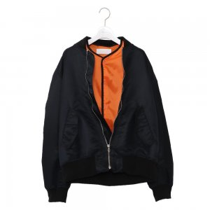 <img class='new_mark_img1' src='//img.shop-pro.jp/img/new/icons14.gif' style='border:none;display:inline;margin:0px;padding:0px;width:auto;' />NEON SIGN Sandwich Bomber Jacket (BLK)