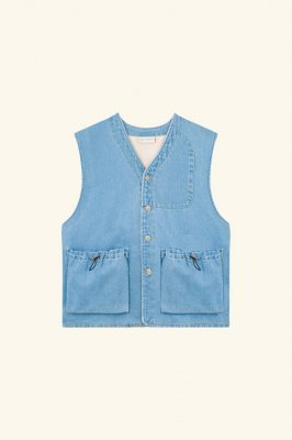 <img class='new_mark_img1' src='//img.shop-pro.jp/img/new/icons14.gif' style='border:none;display:inline;margin:0px;padding:0px;width:auto;' /> DROLE DE MONSIEUR     Denim Utility jacket