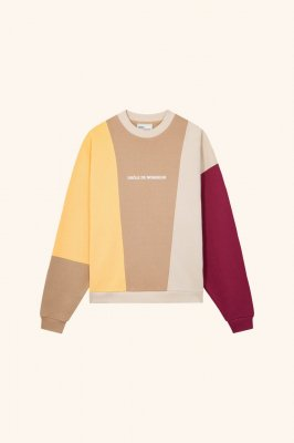 <img class='new_mark_img1' src='//img.shop-pro.jp/img/new/icons14.gif' style='border:none;display:inline;margin:0px;padding:0px;width:auto;' /> DROLE DE MONSIEUR    Color Block Logo Sweatshirt