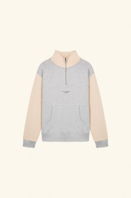 <img class='new_mark_img1' src='//img.shop-pro.jp/img/new/icons14.gif' style='border:none;display:inline;margin:0px;padding:0px;width:auto;' /> DROLE DE MONSIEUR     Half-Zipped NFPM Sweatshirt