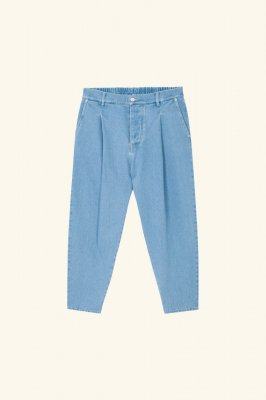 <img class='new_mark_img1' src='https://img.shop-pro.jp/img/new/icons14.gif' style='border:none;display:inline;margin:0px;padding:0px;width:auto;' />DROLE DE MONSIEUR      Cropped Denim Pants