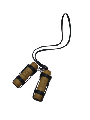<img class='new_mark_img1' src='//img.shop-pro.jp/img/new/icons14.gif' style='border:none;display:inline;margin:0px;padding:0px;width:auto;' />Feng Chen Wang BAMBOO BAMBOO NECKLACE / BLACK STRAP