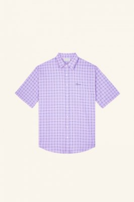 <img class='new_mark_img1' src='https://img.shop-pro.jp/img/new/icons14.gif' style='border:none;display:inline;margin:0px;padding:0px;width:auto;' /> DROLE DE MONSIEUR    Check Oversized Shirt