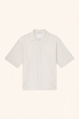 <img class='new_mark_img1' src='https://img.shop-pro.jp/img/new/icons14.gif' style='border:none;display:inline;margin:0px;padding:0px;width:auto;' /> DROLE DE MONSIEUR     Laced Oversized Shirt