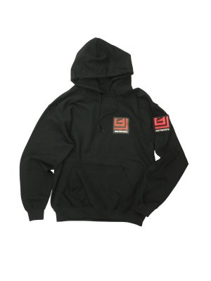 <img class='new_mark_img1' src='https://img.shop-pro.jp/img/new/icons16.gif' style='border:none;display:inline;margin:0px;padding:0px;width:auto;' />[30%OFF] AiE PRINTED HOODY - ADD FAVORITE (BLK)