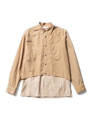 <img class='new_mark_img1' src='https://img.shop-pro.jp/img/new/icons14.gif' style='border:none;display:inline;margin:0px;padding:0px;width:auto;' />Sasquatchfabrix. VENTILATION L/S SHIRT (BEI)