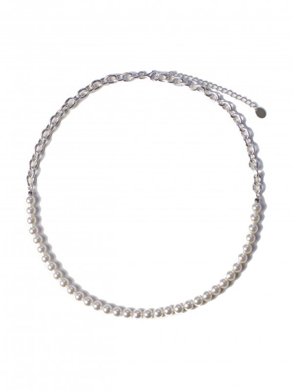 EPHEMERAL switching pearl necklace (6mm)